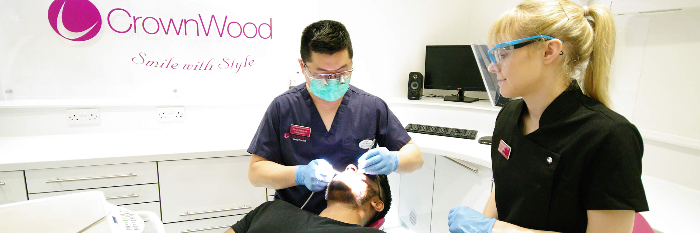 New Patients Exam just £45 at CrownWood Dental Practice in Bracknell