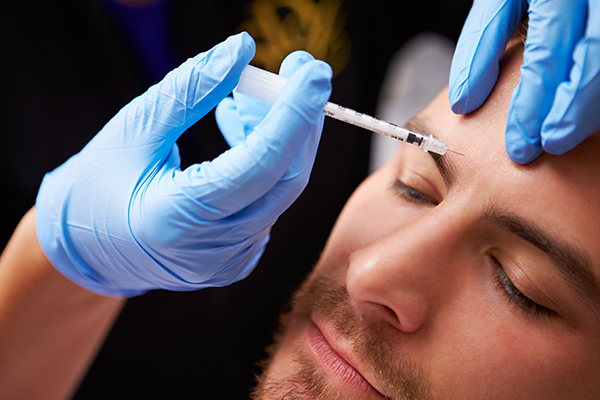 Male wrinkle reduction injections in Bracknell